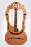 Luigi Mozzani  Chitarra-Lyra Lyre Harp Guitar formerly the personal instrument of Mario Maccaferri,  c. 1910