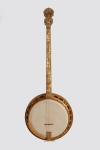 Gibson  Florentine Plectrum Banjo custom made for and played by The Mitchell Brothers (1928)