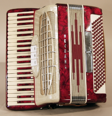 Ferrari  Keyboard Accordion ,  c. 1960's