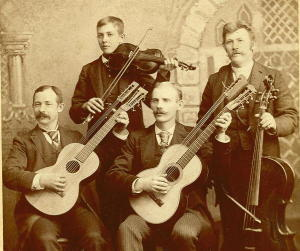 CC, Instruments, Band: Harp-Guitars, 1890s