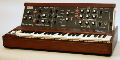 Minimoog D Analog Keyboard Synthesizer ,  c. 1972