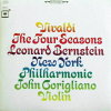 Vivaldi, The Four Seasons by Leonard Bernstein, New York Philharmonic.  33 1/3 Record