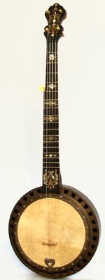 Dobson style 5 String Banjo, likely made by Buckbee,  c. 1880's