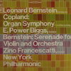Copland, Organ Symphony, Bernstein, Serenade for Violin and Orchestra by New York Philharmonic w/ Leonard Bernstein.  33 1/3 Record