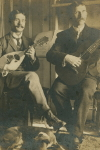 CC, Music: Mandolin & Guitar Duo, early 1900s