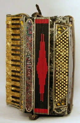 Imperator Keyboard Accordion, c. 1930's