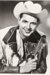 Publicity Photograph of  Hank Thompson in Nudie Suit holding Bigsby/Gibson guitar,  c. early 1950's