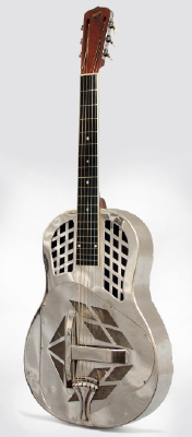 National  Style 1 Tricone Roundneck Resophonic Guitar  (1930)