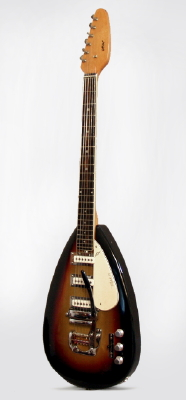 Vox  Mark VI Teardrop Solid Body Electric Guitar  (1965-6)