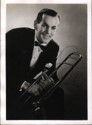 Glenn Miller Photograph with Autograph 1930s
