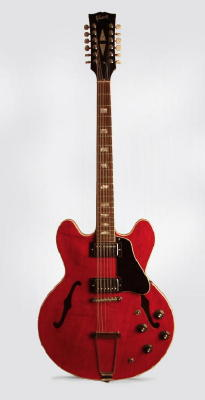 Gibson  ES-335-12 formerly owned and played by Robby Krieger of The Doors 12 String Semi-Hollow Body Electric Guitar formerly owned and played by Robb