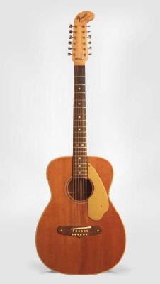 Fender  Villager 12 String Flat Top Acoustic Guitar ,  c. 1969