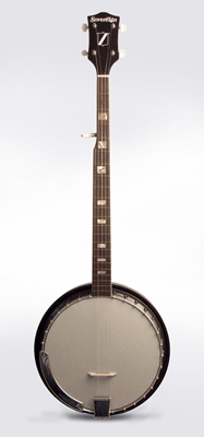 Sovereign 5 String Resonator Banjo,  made by Harmony ,  c. 1972