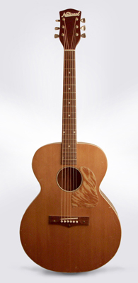 National  Model 1150 Flat Top Acoustic Guitar  (1955)