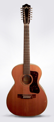 Guild  F-212 12 String Flat Top Acoustic Guitar  (1967)