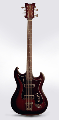 Hagstrom  8-String Bass H-8 Solid Body Electric Bass Guitar ,  c. 1968