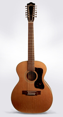 Guild  F-212 12 String Flat Top Acoustic Guitar  (1966)