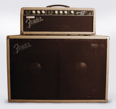 Fender  Bassman 6G6B Tube Bass Amplifier (1962)