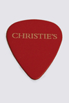 Christie's Crossroads Guitar Auction, Eric Clapton and Friends flat Pick,  c. 2011