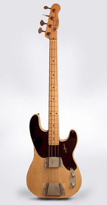Fender  Precision Bass Solid Body Electric Bass Guitar  (1953)