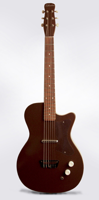 Silvertone Model 1304 Wishbook Special Semi-Hollow Body Electric Guitar,  made by Danelectro  (1961)