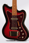 Silvertone Model 1443 Solid Body Electric Bass Guitar, made by Danelectro  (1967)