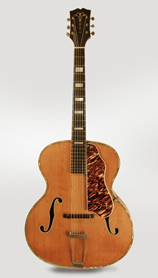 Prairie State Arch Top Acoustic Guitar,  made by Larson Brothers ,  c. 1939