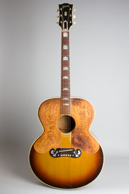 Gibson  SJ-200 Flat Top Acoustic Guitar Formerly owned and played extensively by Dave Dudley (1952)