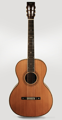 Maurer Style 551 Flat Top Acoustic Guitar, made by Larson Brothers ,  c. 1920
