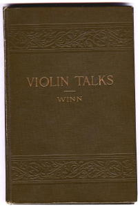 Violin Talks, Edith Lywood Winn, 1905